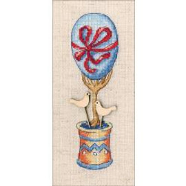 Dove Tree Of Happiness Counted Cross Stitch By RTO