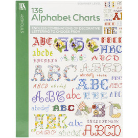Alphabets Galore Cross Stitch Booklet By Leisure Arts