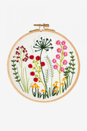 Rustic Countryside  Embroidery Kit By DMC