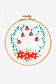 Bougainvilea Garden Embroidery Kit by DMC