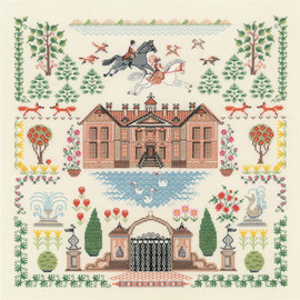 My House Counted Cross Stitch Kit By Riolis