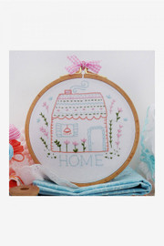 Home Sweet Home Tamar Collection Cross Stitch Kit by DMC