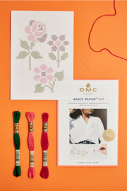 Flower Collection Cross Stitch Kit by DMC