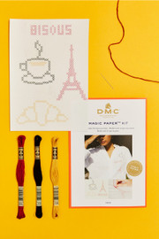 French Collection Cross Stitch Magic Paper Kit by DMC