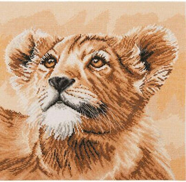 Lion Cub - Little Princess Cross Stitch Kit by Anchor
