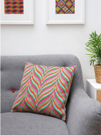 Multi Bargello Essentials Tina Francis Cushion Tapestry Kit by Anchor