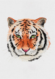 Tiger Freestyle Embroidery Kit by Panna