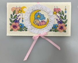 Congratulations Newborn Card Counted Cross Stitch Kit by Riolis