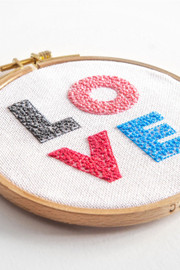 Love Embroidery Kit By DMC