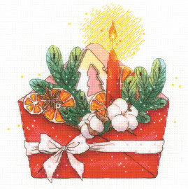 Christmas Letter Counted Cross Stitch Kit by Riolis