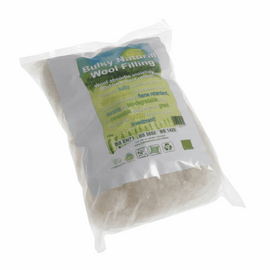 Natural Wool: Bulky Filling: 100g