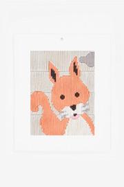 Squirrel Longstitch Kit by DMC