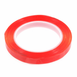Adhesive Hi-Tack Double Sided Tape: 12mmx15m By Trimits