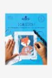 Caspar the fox straight stitch kit by DMC