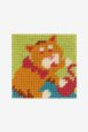 Kitten big hole tapestry kit by DMC