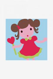 Little Girl Tapestry Kit By DMC