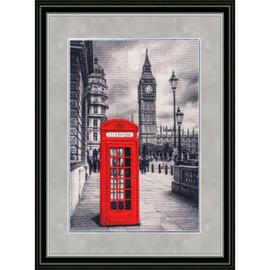 London Motive Cross stitch Kit by Golden Fleece