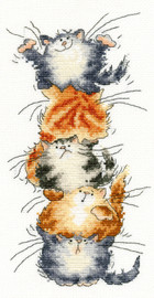 Top Cat Cross Stitch Kit By Bothy Threads