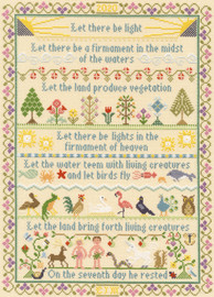Let There Be Light Cross Stitch Kit by Bothy Threads