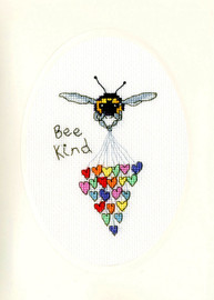Bee Kind Cross Stitch Kit by Bothy Threads