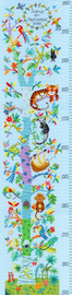 Tropical Height Chart Cross Stitch Kit by Bothy Threads