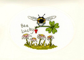 Bee Lucky Cross Stitch Kit by Bothy Threads