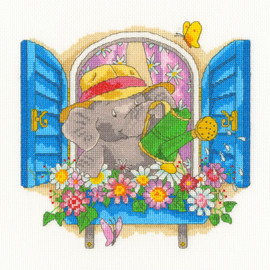 Bloomin' Lovelly Cross Stitch Kit by Bothy Threads