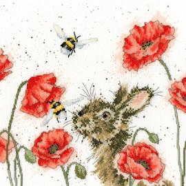 Let It Bee Cross Stitch Kit by