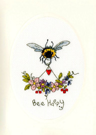 Bee Happy Cross Stitch Kit By Bothy Threads