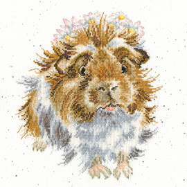 Grinny Pig Cross Stitch Kit by Bothy Threads