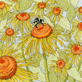 Sunflower Garden Cross Stitch Kit By Bothy Threads