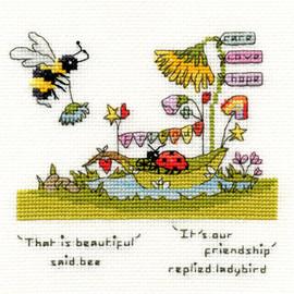 Beautiful Friendship Cross Stitch Kit by Bothy Threads