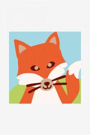 The Fox Tapestry Kit by DMC