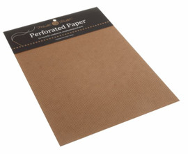 Brown Perforated Paper Needlecraft Fabric by Mill Hill