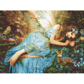 Spring Fairy Cross Stitch Kit by Artibalt