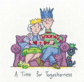 Togetherness Cross Stitch Kit by Heritage Crafts