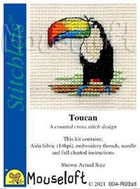 Toucan By Mouseloft