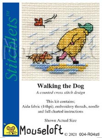 Walking the Dog by Mouse Loft