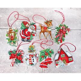 Christmas Toys Kit Cross Stitch Kit by Letistitch