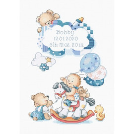 Its A Boy! Cross Stitch Kit by Letistitch