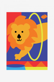 The Lion Tapestry Kit by DMC