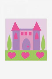 The princess Castle Tapestry Kit By DMC