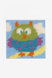 The owl  Tapestry kit by DMC