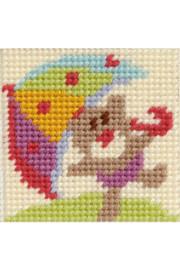 Umbrella Tapestry Kit by DMC