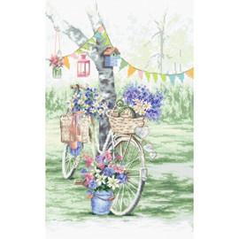 Bike Cross Stitch by Letistitch