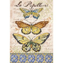 Vintage Wings - Le Papillions Cross Stitch Kit by Letistitch