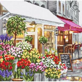 Flower Shop Cross Stitch Kit by Artibalt