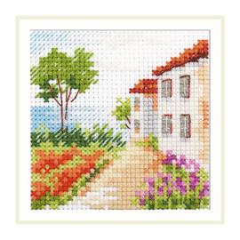 Road to the Sea Cross Stitch Kit by Artibalt