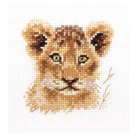 Animal Portraits. Lion Cross Stitch Kit by Artibalt