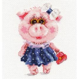 Toysa Cross Stitch Kit By Alisa